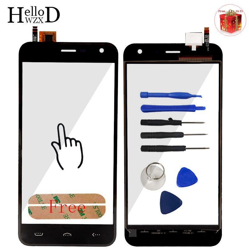 Neue A + + + Handy Touch Panel Front High Für Homtom HT3/HT3 Pro Touchscreen Glas Digitizer Verkleidungs-objektiv Sensor Werkzeug Klebstoff
