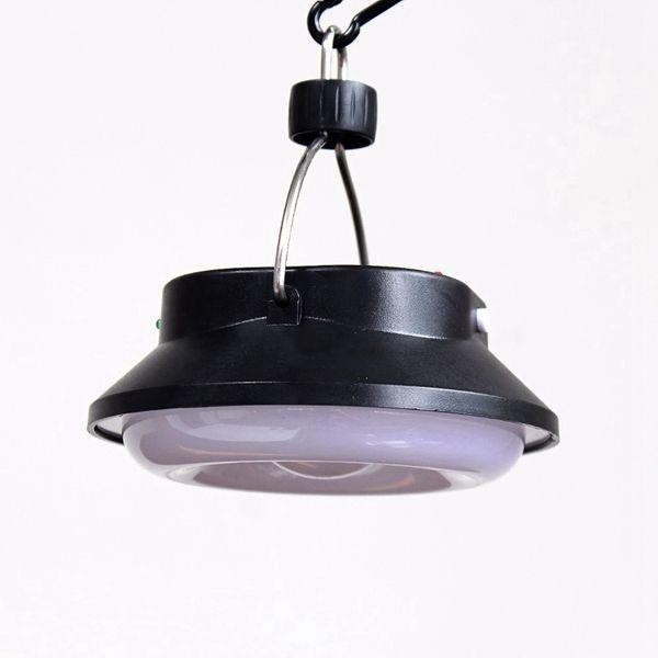 DC12V 10 Watt Solar USB Wiederaufladbare LED COB Camping Zelt Licht Beweglicher Im Freien Notfall Laterne