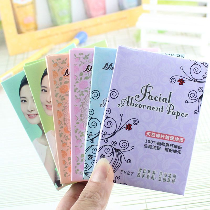 Cleaning Oil Absorbing Face Tissue Pro Powerful Absorb Blotting Facial Cleaner Natural Fiber Oil - Absorbing Paper 70pcs/Lot