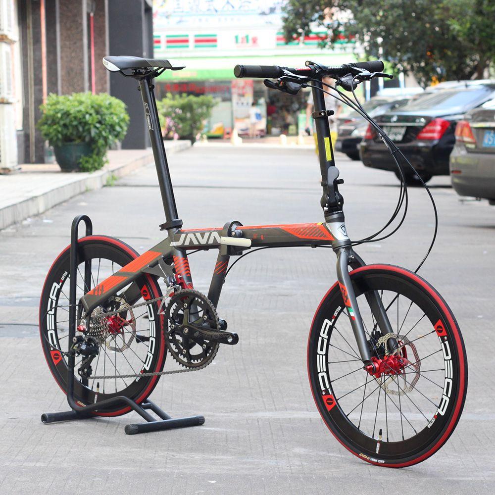 JAVA FIT Aluminium Adult Folding Bike 20