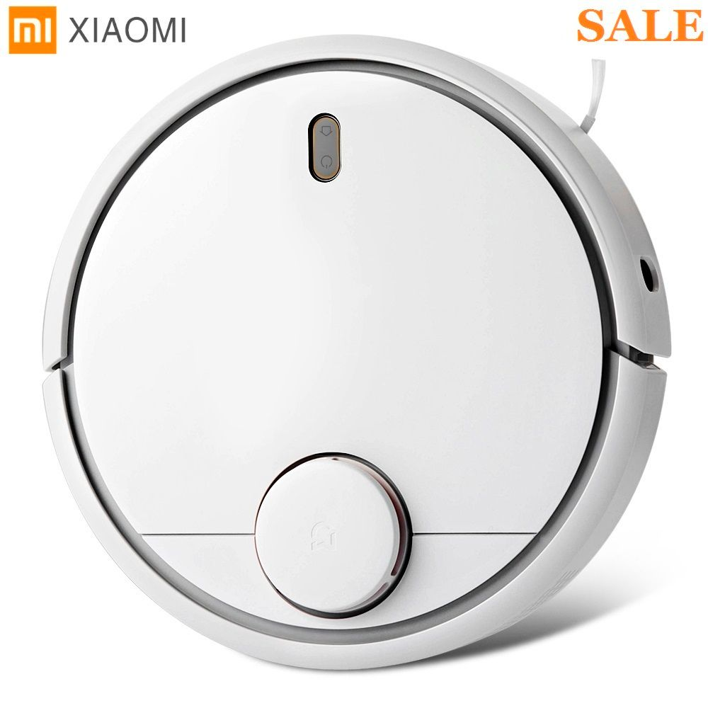 Original Xiaomi Smart Robot Vacuum Cleaner 1st Generation App Remote Control Auto Charge 2 in 1 Sweep 5200mAh For Home Office