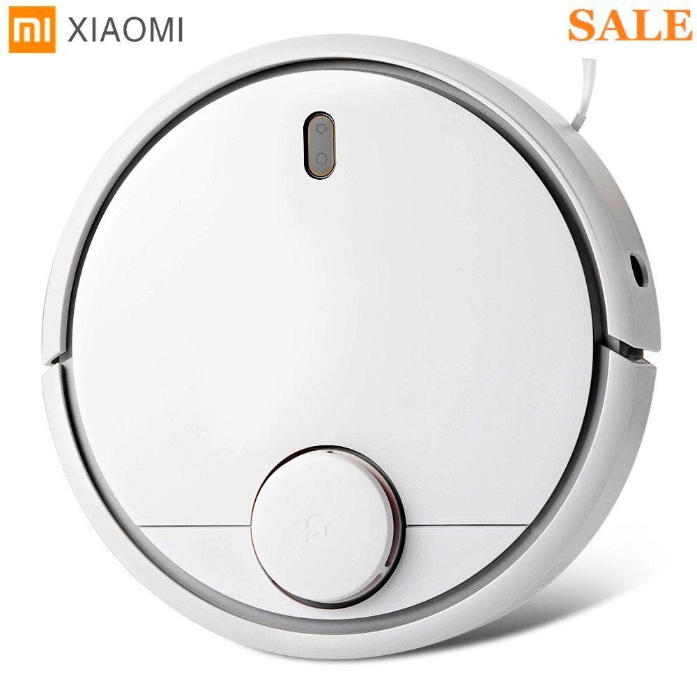 Original Xiaomi Smart Roboter-staubsauger 1st Generation App Fernbedienung Auto Ladung 2 in 1 Sweep 5200 mah Für home Office