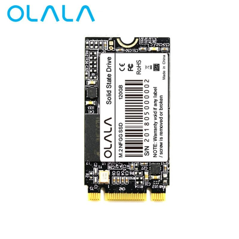 2018 OLALA M.2 SSD 120GB 240GB 480GB Internal Solid State Drive 22*42mm NGFF SATA 3 6Gb/s SSD For Laptop Ultrabook Notebook