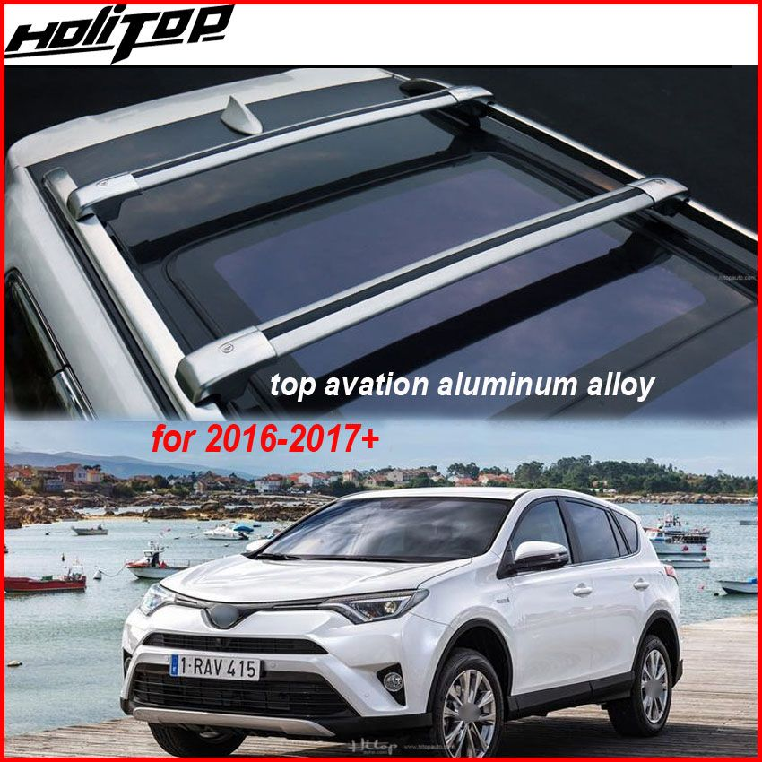 Luggage bar roof rail cross beam cross bar for Toyota RAV4 2013-2018, supplied by ISO9001 great factory.free shipping to Asian.