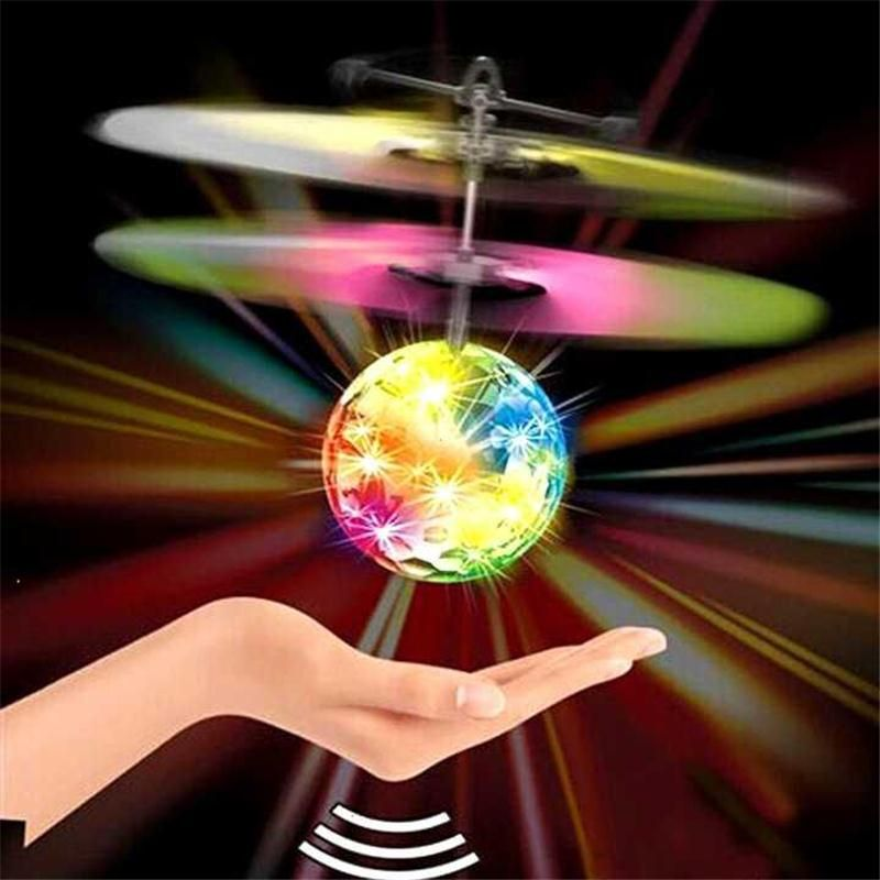New design electronic stuffed plush toy illumating flying aircraft curious toy for kids children improving intelligence gifts