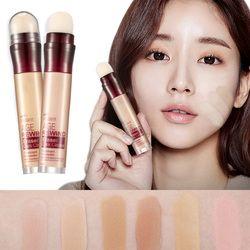 Wajah Foundation Concealer Penghapus Pena Tahan Lama Lingkaran Hitam Korektor Kontur Concealer Stick Kosmetik Makeup DL