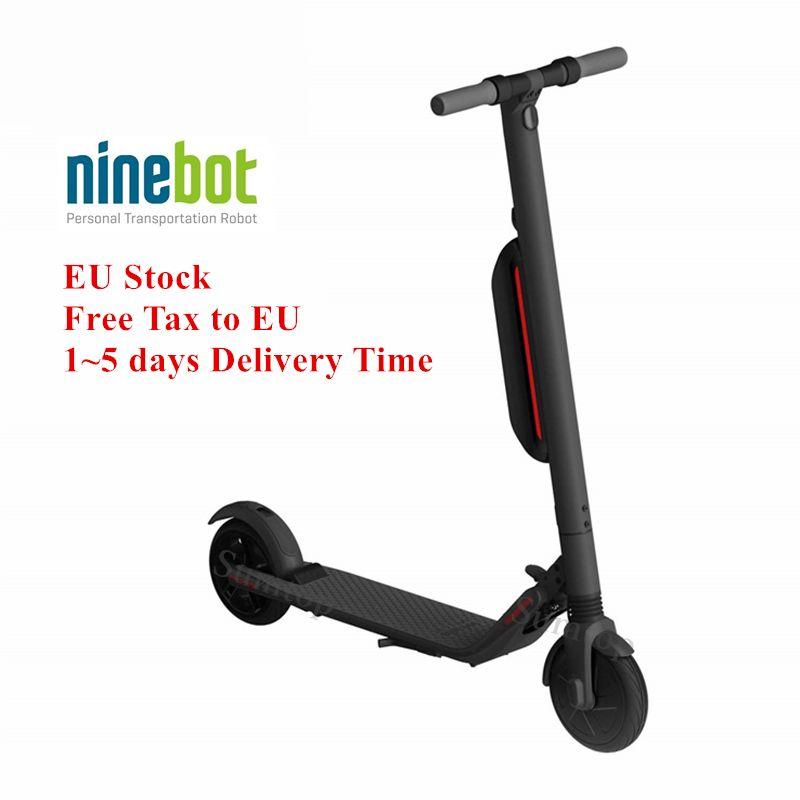EU Lager Original Ninebot KickScooter ES4 Smart Elektrische Tretroller hover board Upgrade von Xiao mi mi jia mi Pro hoverboard