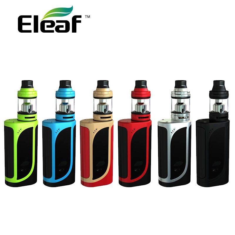 Original 200W Eleaf iKonn 220 Kit with 4ml Eleaf Ello Tank ikonn Mod 220W No 18650 Battery E-cigarette Vape ikonn vs Alien 220W