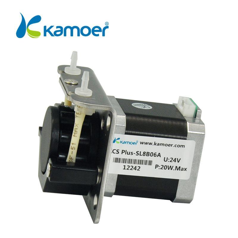 Mini pompe péristaltique mini électrique pompe à eau avec haute précision micro pompe doseuse péristaltique Kamoer (L) KCS PLUS steppermotor