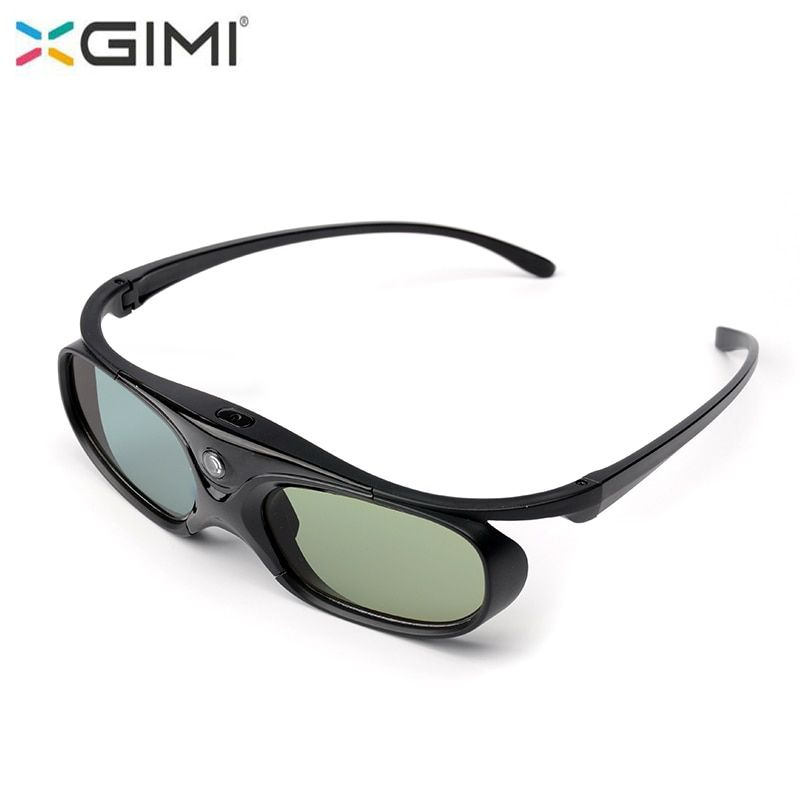 XGIMI 3D Glasses Active Shutter with battery For XGIMI H1 H1S Z4 Auora Z5 Z3 Projector and other DLP Link Projector
