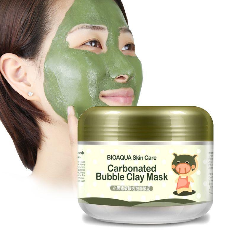 Bioaqua soins de la peau traitement de sommeil masque blanchissant hydratation autocollants nettoyage aspirateur de points noirs cosmétiques visage masques anti vieillissement