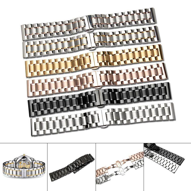 14/16/17/18/19/20/21/22/23/24mm Bracelet de montre Bracelet en acier inoxydable Bracelet TT @ 88