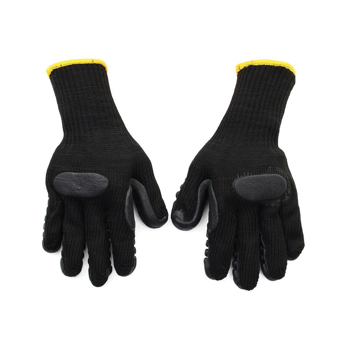 NEUE Safurance Anti Vibration Gloves Elektrowerkzeug Stoßfest Reduziert Arbeit Für Bohren Mine-kohle Arbeitssicherheit