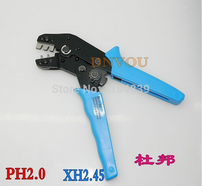 SN-01BM Professional Crimping Press Tool For Dupont 2.54MM PH2.0 XH2.45 2.0MM Terminal Connector