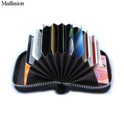 Брен Maillusion, женский кошелек из подлинной кожи, женский держатель для карт, кошелек женский, модный кошелек на молнии для кредитных карт