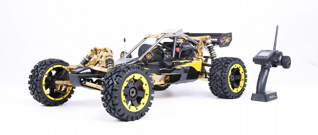 1/5 RC AUTO Off-road 36CC leistungsstarke 2 t Benzin Engin 2,4G Fernbedienung Rovan BAJA 5B mit symmetrische lenkung