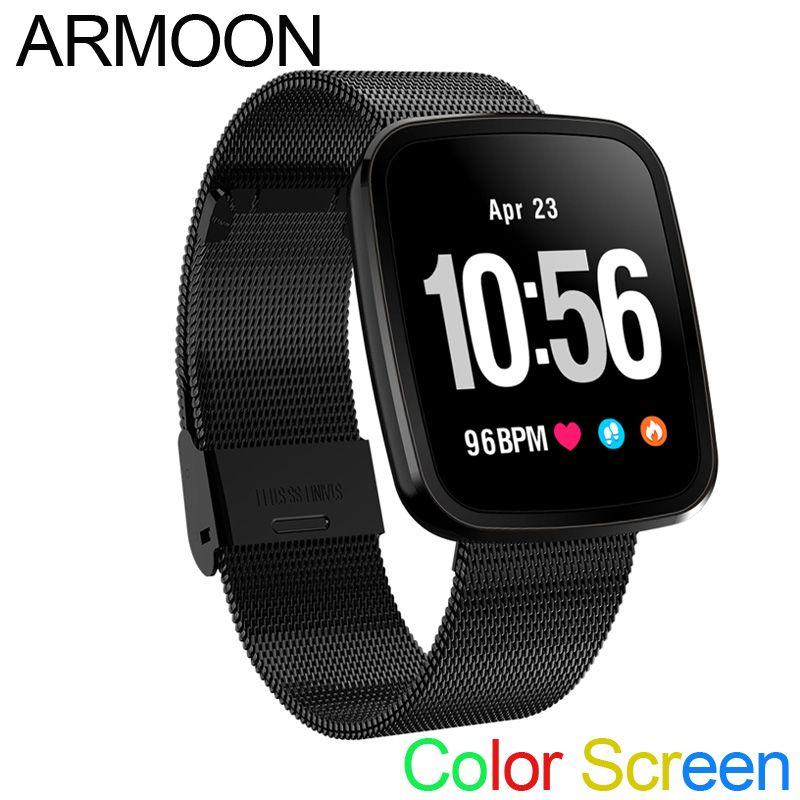 Smart Band V6 Sleep Monitor Fitness Tracker Heart Rate Smart Bracelet Blood Pressure Smartwatch Color Screen Band VS mi band 2 3