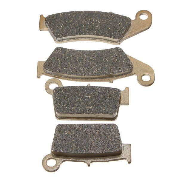 Спереди и сзади тормозные колодки для YAMAHA YZ 125 250 1998-2002 WR 250 426F 01-02 yz 426 2000-2002