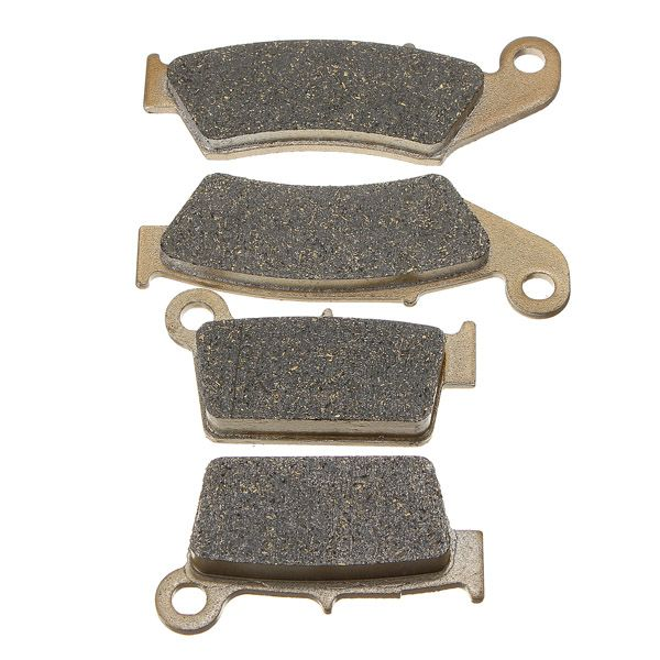 Front Rear Brake Pads For Yamaha YZ 125 250 1998-2002 WR 250 426F 01-02 YZ 426 2000-2002