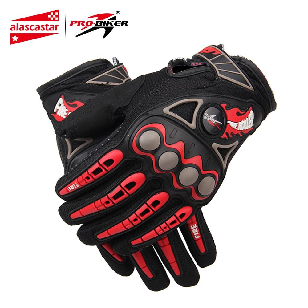 PRO-MOTARD Moto gants de course Respirant Enduro Dirt Bike Moto Guantes Luvas Off Road Motocross Moto gants d'équitation