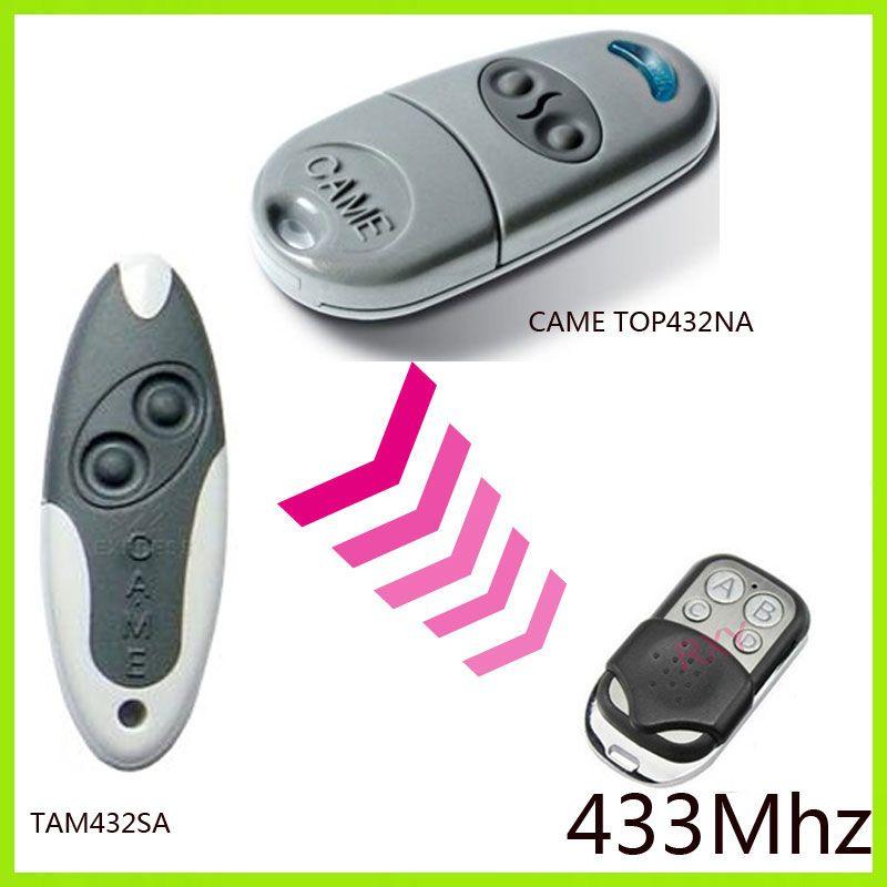 Duplicateur CAME TOP432NA, CAME TAM 432SA 433.92 Mhz télécommande (avec batterie)