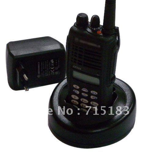 Freies verschiffen GP338 VHF/UHFProfessional zwei-wege-radio mit tastatur und LCD-display