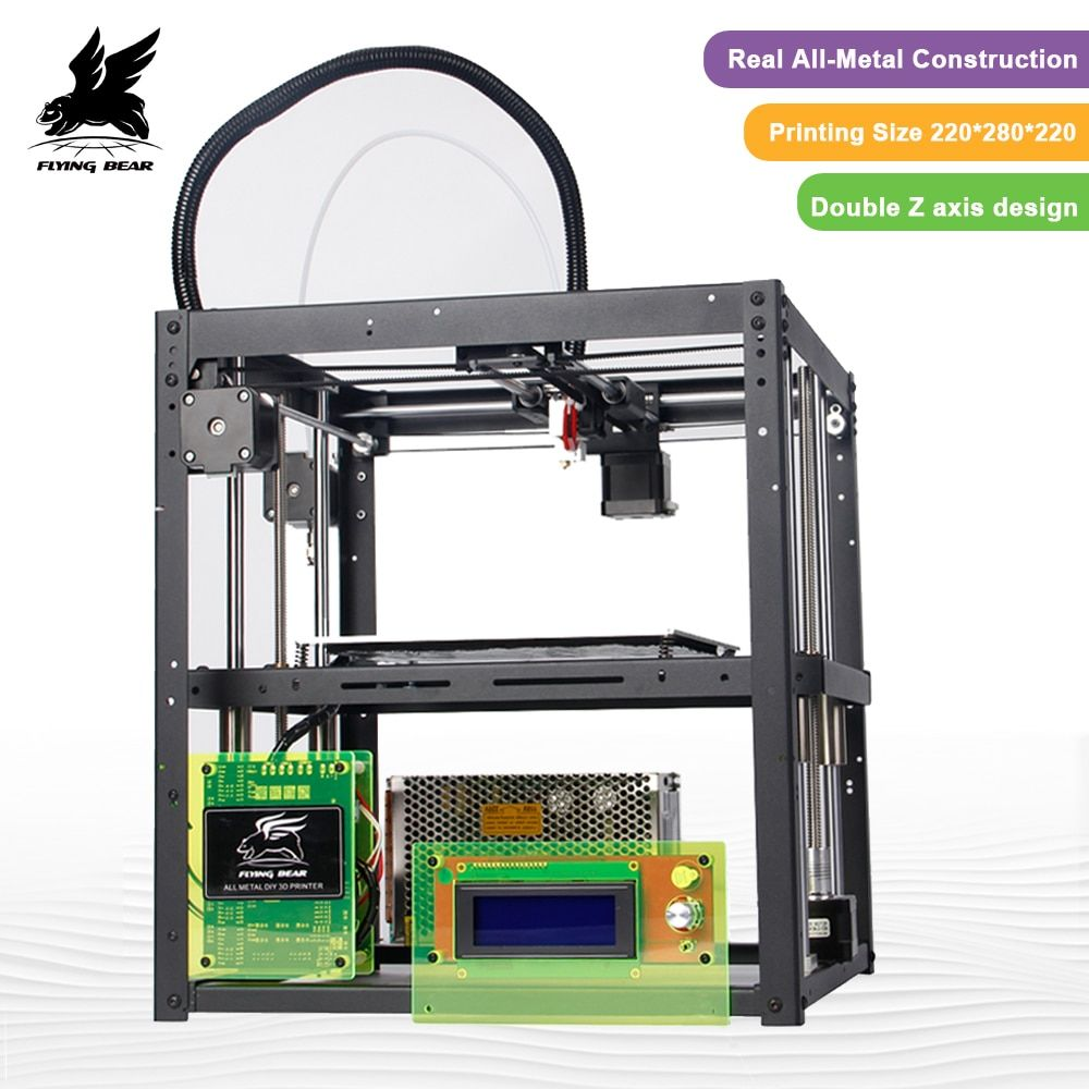 Shipping from Germany Bigger Print area Flyingbear-P905 DIY3d Printer kit Full metal High Quality Precision Makerbot Structure