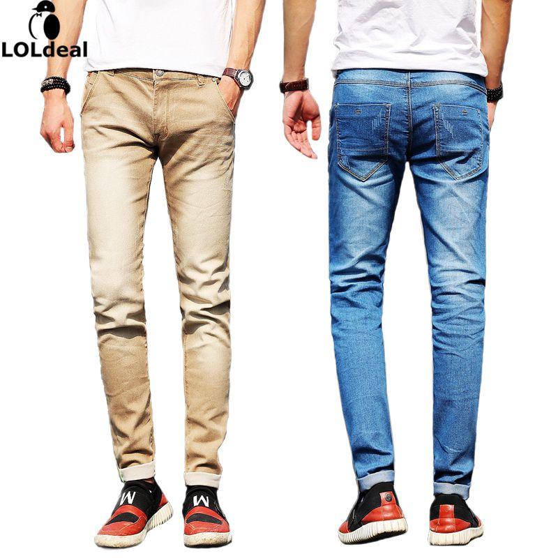 Marque Hommes Jeans Taille 28 à 38 Noir Bleu Stretch Denim Slim Fit Hommes Jean pour Homme Pantalon Pantalon Jeans (taille asiatique)