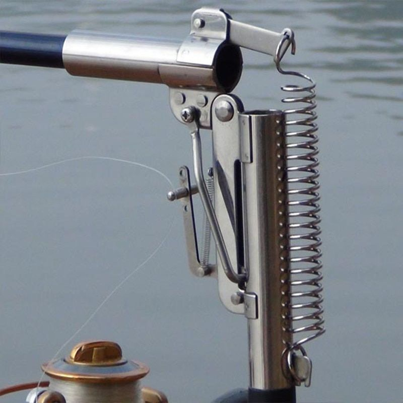 2.1m 2.4m <font><b>2.7m</b></font> 3.0m Automatic Fishing Rod (Without Reel) Sea River Lake Pool Fishing Pole Device + Stainless Steel Hardware