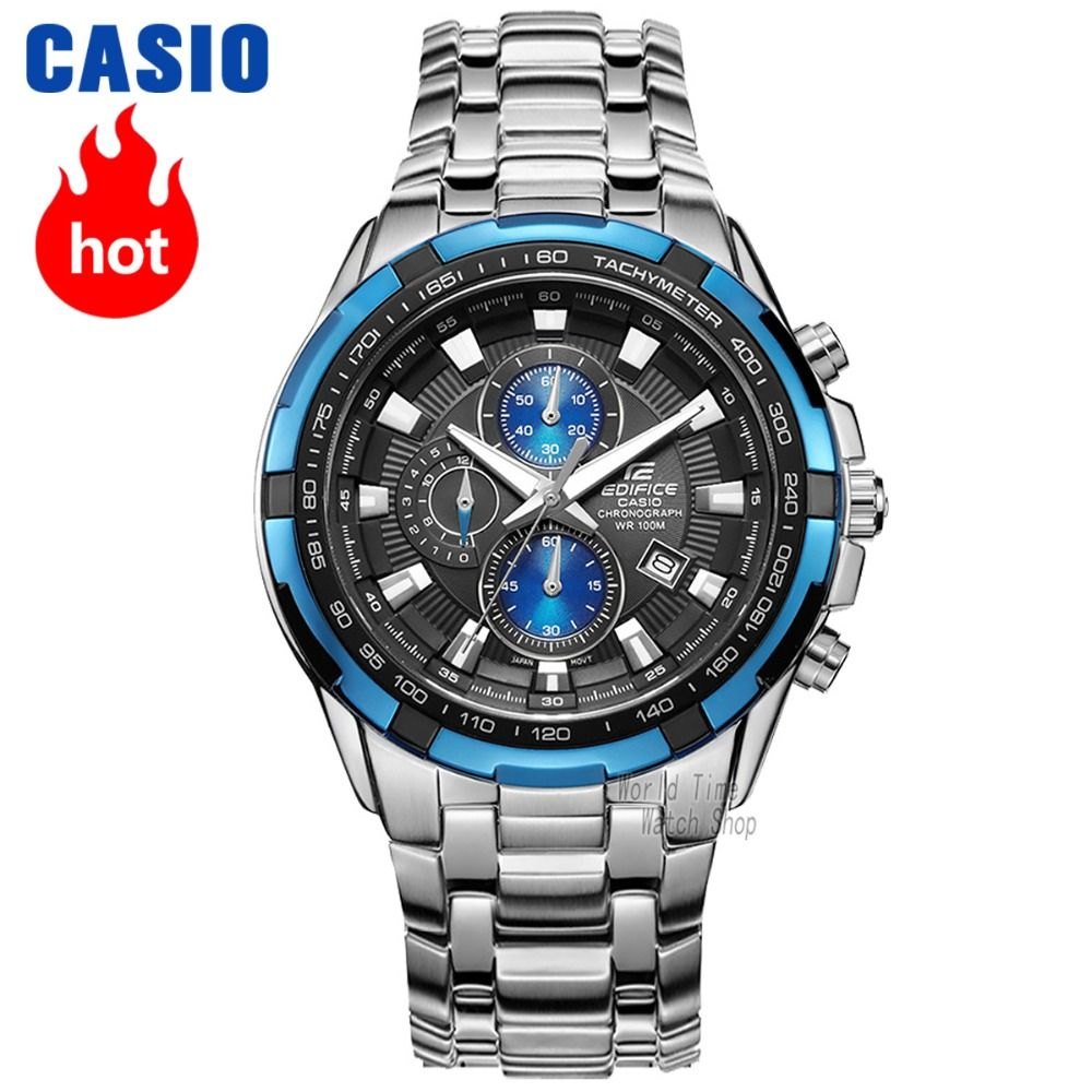 Casio Uhr Edifice Uhr Männer Top-Marke Luxus Quarz Watche wasserdicht leuchtende Chronograph Herrenuhr F1 Racing Element Sport Militäruhr relogio masculino reloj hombre erkek kol saati montre homme zegarek meski EF-539