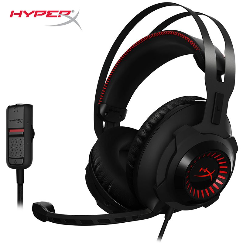 Kingston virtual 7.1 HyperX <font><b>Cloud</b></font> Revolver Headphones for precise audio positioning Gaming Headset for FPS