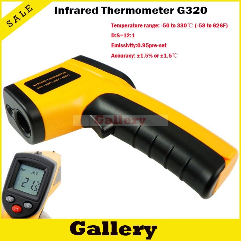 Infrared Thermometer Digital Thermal Camera Imager Handheld Non Contact Ir Laser Temperature Gm320 Ir Laser Diode Laser Diode 1w