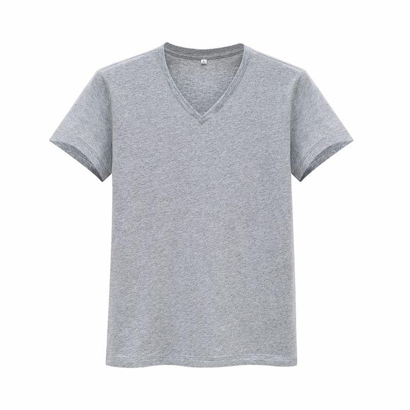 2018 mode D'été la meilleure qualité Hommes Cofortable coton T-Shirt YLM01-YLM03