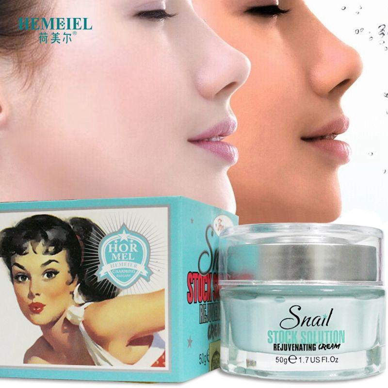 HEMEIEL Gesichts Schnecke Creme Anti-Aging Ant-Falten Gesicht Creme Bleaching Creme Feuchtigkeits Firming Zarte Haut Koreanische Kosmetische