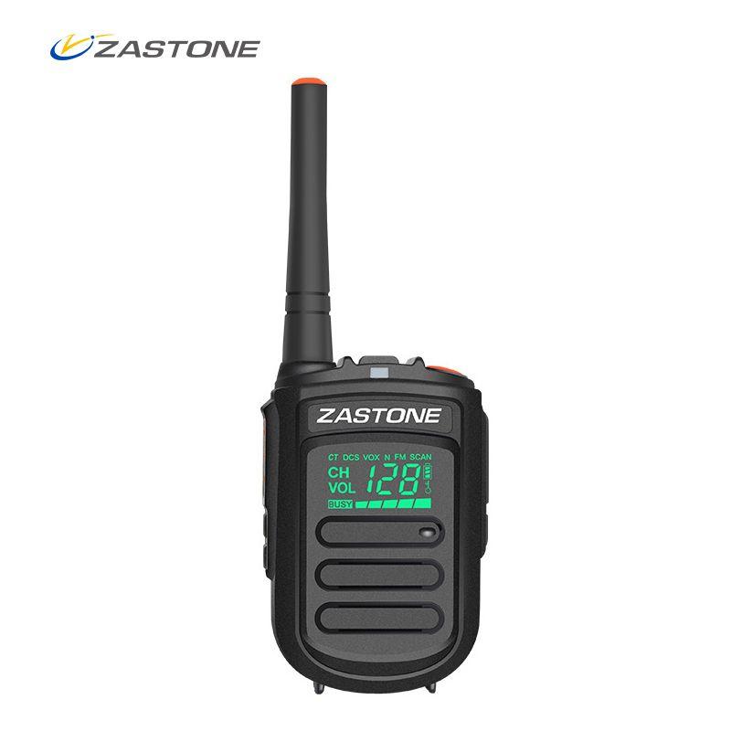 Zastone Portable Talkie Walkie Mini9 UHF 400-470 mhz De Poche à Deux Voies Radio Ham Radio Communicateur talkie walkie Émetteur-Récepteur