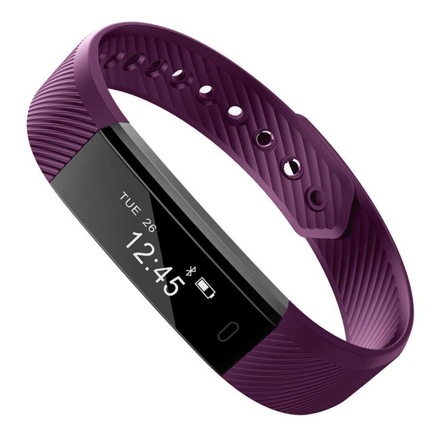 Smartch ID115 Bande À Puce Bluetooth Bracelet Podomètre Fitness Tracker Montre À Distance Caméra Bracelet Pour Android iOS
