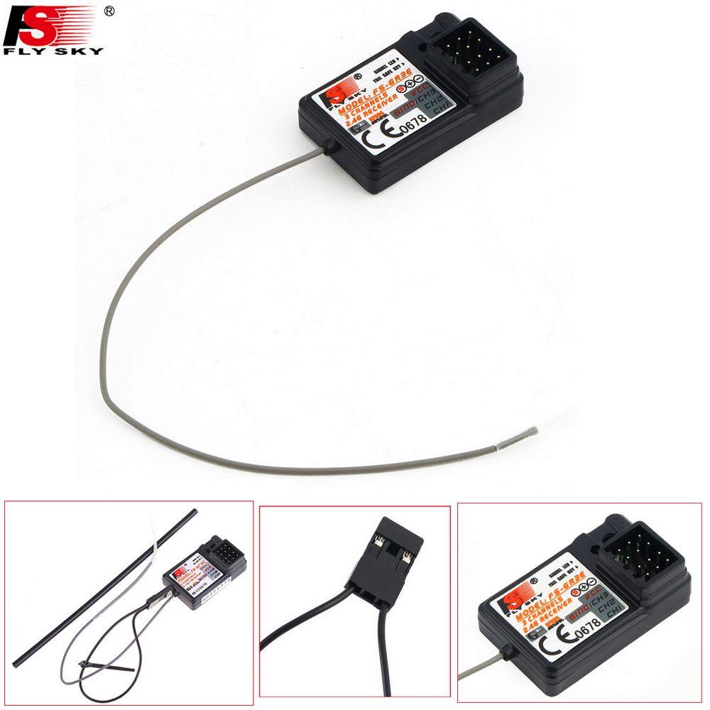 1 stücke Flysky FS-GR3C FS-GR3E FS-GR3F 2,4G 3CH Empfänger mit Ausfallsicheren Für RC Auto Boot FS-GT3B FS-GT2 FS-GT3C Transmitter