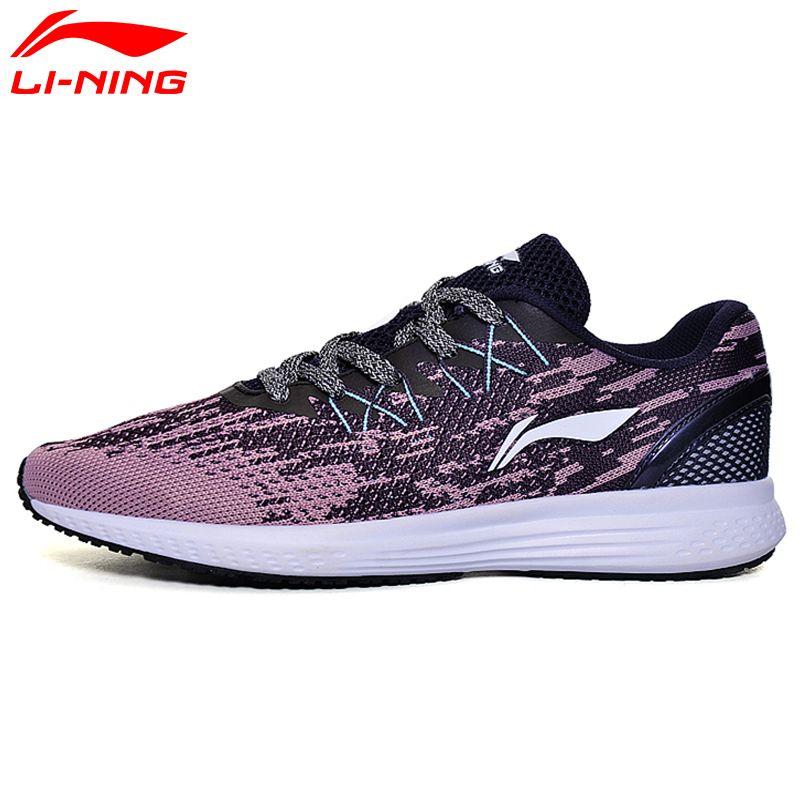 Li Ning frauen 2017 GESCHWINDIGKEIT STERN Kissen Laufschuhe Breathable Turnschuhe Textil Licht Futter Sportschuhe ARHM082 XYP472