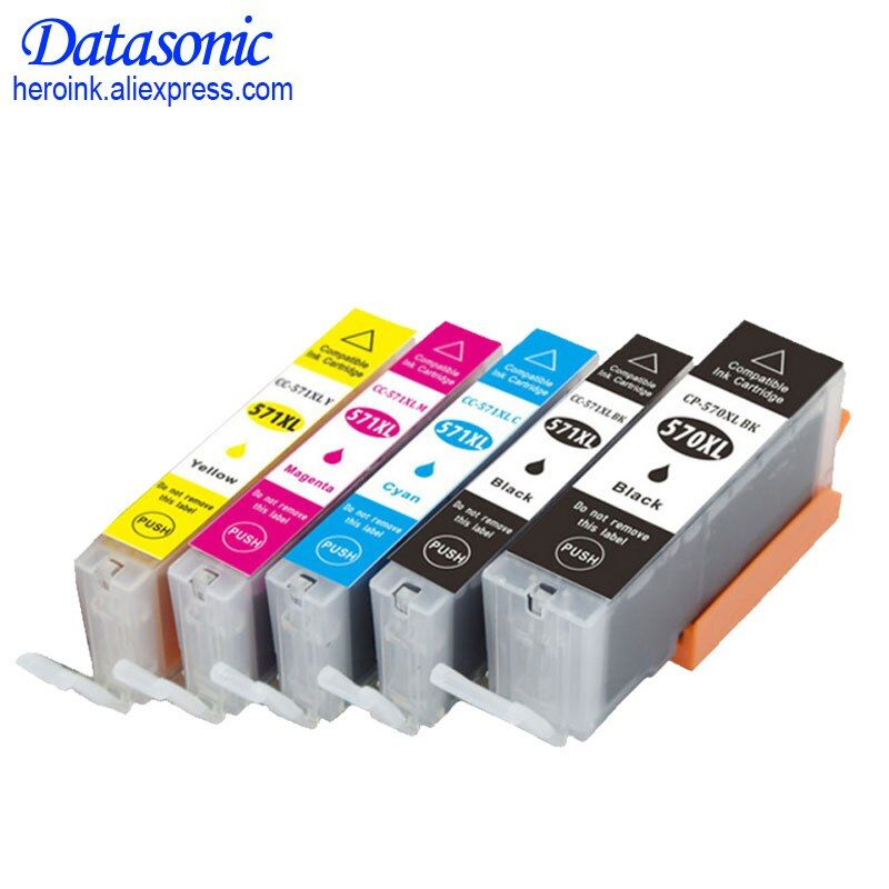 DAT for 570 571 PGI-570 CLI-571 Ink Cartridge For Canon PIXMA MG5750/MG5751/MG5752/MG5753/MG6850/MG6851/MG6852/MG6853/MG7750