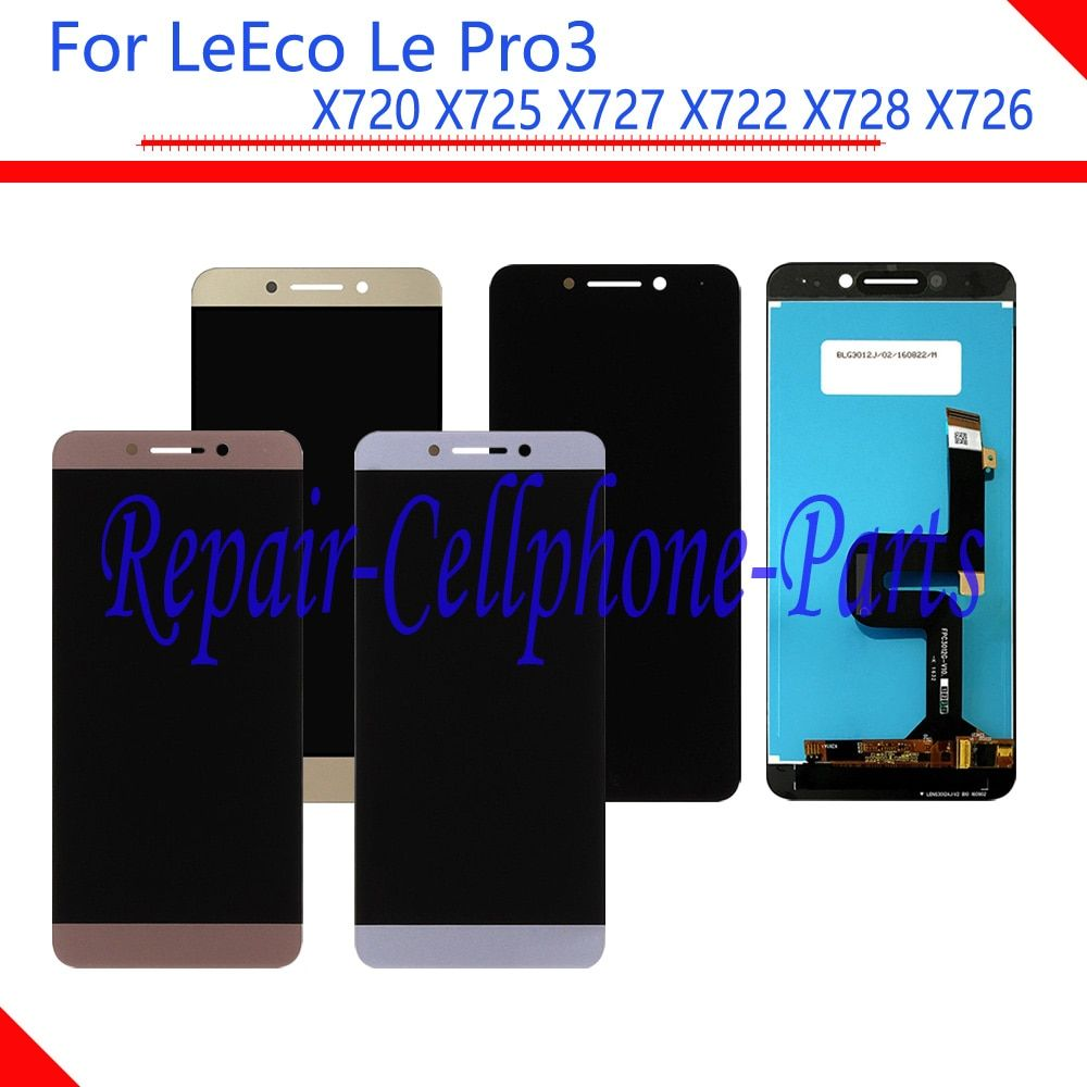 New Full LCD DIsplay + Touch Screen Digitizer Assembly For LeTV LeEco Le Pro3 Pro 3 X720 X725 X727 X722 X728 x726 Free Shipping