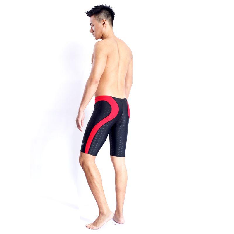 HXBY BRAND Men Swimsuit Competition Boys Swimwear Briefs Mens Swimming Trunks For Bathing Swim Shorts Sharkskin Swimsuits Boxer