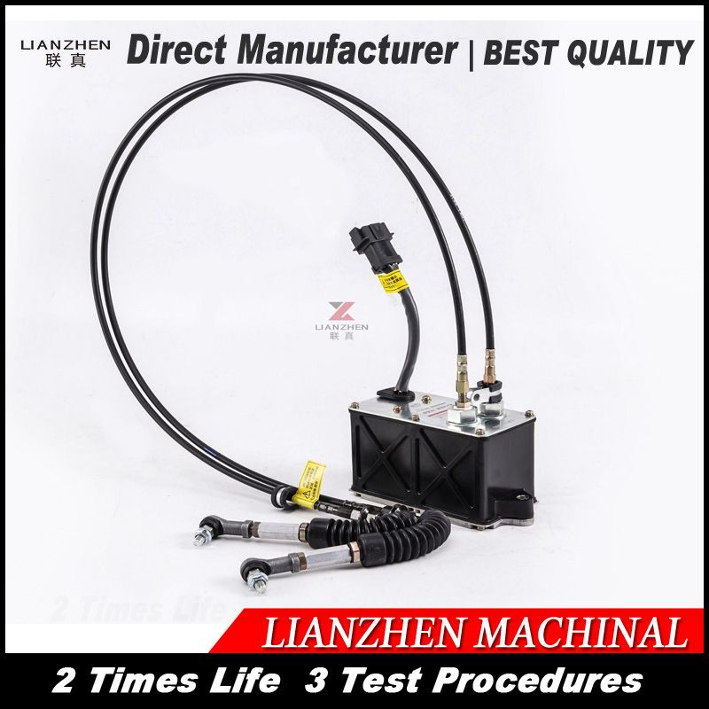 LIANZHEN 2475227 318C for cat320CL Excavator throttle motor for cat governor motor E312C 247-5227 replacement Part