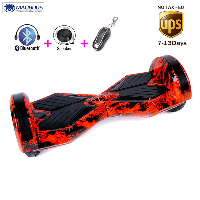Selbst Ausgleich Elektrische Hoverboard Batterie Skateboard kick Roller Stand Up GyroScooters Hover board Über Bord Oxboard Kid Bord