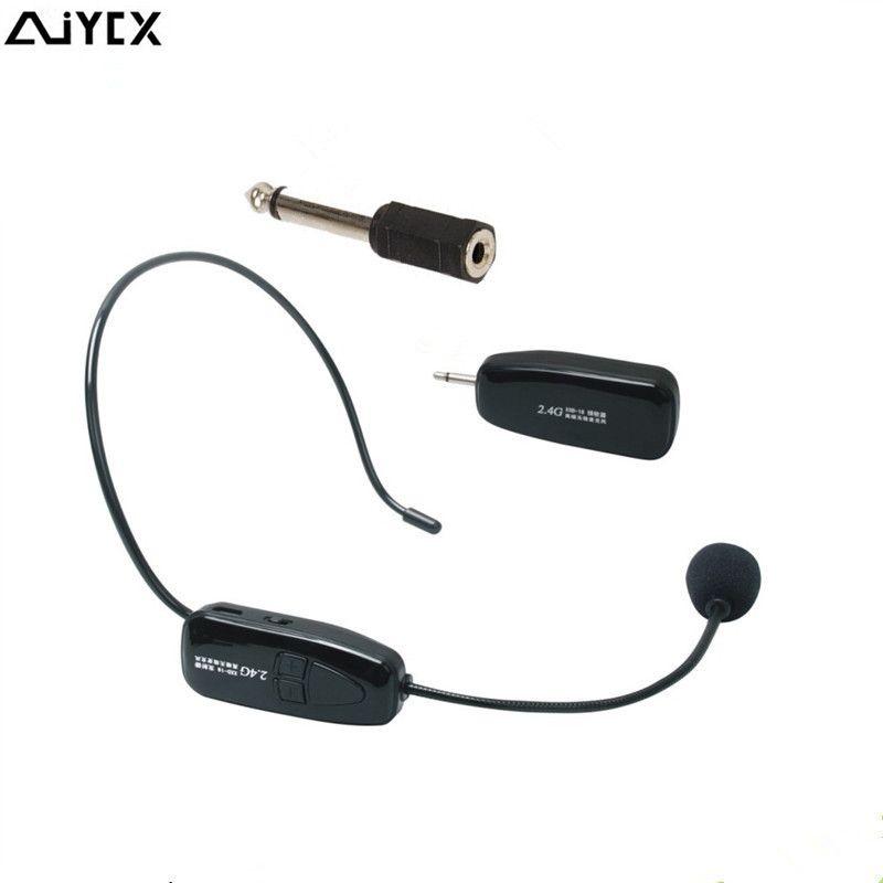 Micro sans fil 2.4G micro micro micro Radio mégaphone pour haut-parleur enseignement réunion Guide touristique Microfones