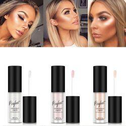 Maquillaje Highlighter iluminador contorno maquillaje cara abrillantador líquido corrector Highlighter Primer Bronzer Glow Face cosméticos