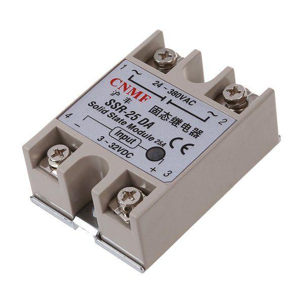 10x New Amico 250V 25A SSR-25DA Temperature Control Solid State Relay