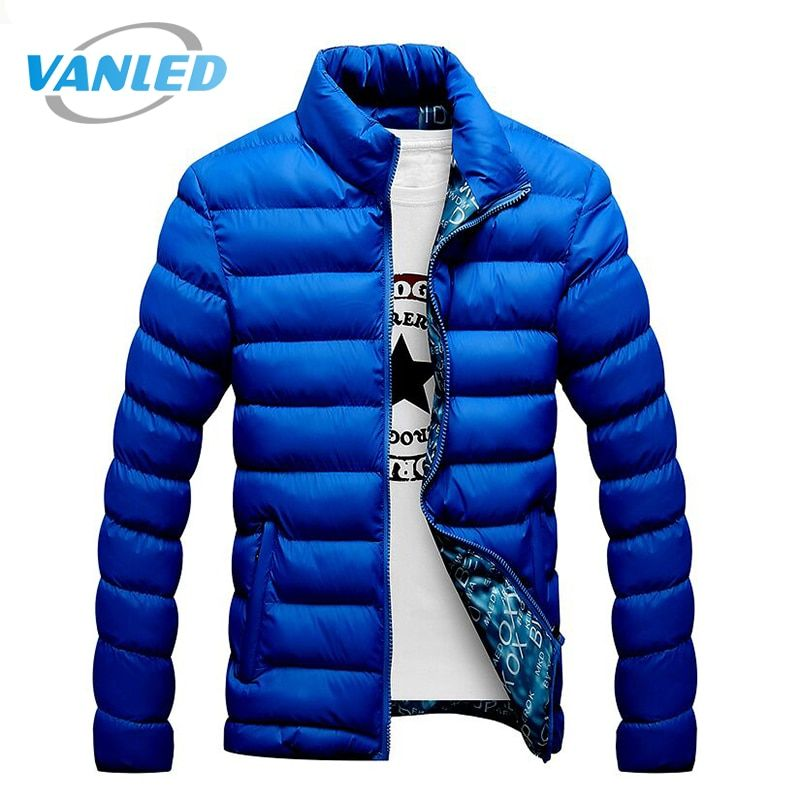 4XL Plus Size 2017 New Men Jacket Autumn Winter Hot Sale High Quality Men Fashion Coat Casual Outwear Cool Design Warm Jacket
