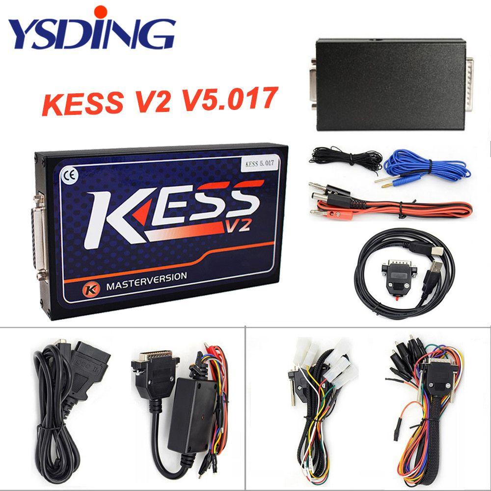 Master Online EU Greeen KESS V5.017 KESS V2 5.017 No Token OBD2 Manager Tuning Master Version ECU programming tool Car/Tractor