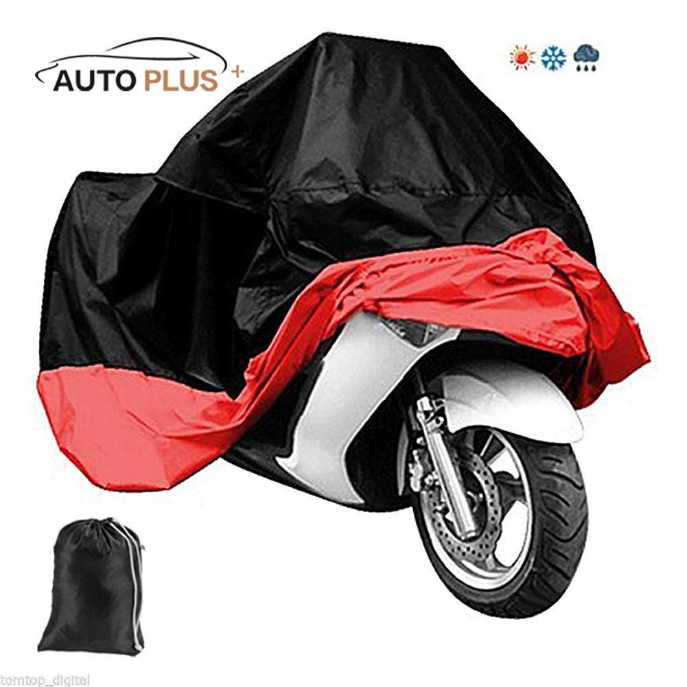 Motorcycle Bike Moped Scooter Cover Waterproof Rain UV Dust protection Dustproof Covering clothing Motorcycle Accessories Parts