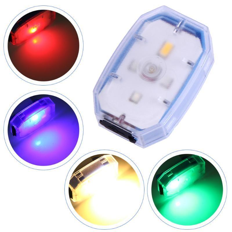 1 stücke Nacht Lauf Arm LED Licht USB Aufladbare Fahrrad Radfahren Warnung Lampe BIKE Lichter Rücklicht Bike Hinten Sicher Warnung lampe